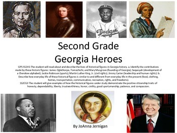 Second Grade Georgia Heroes