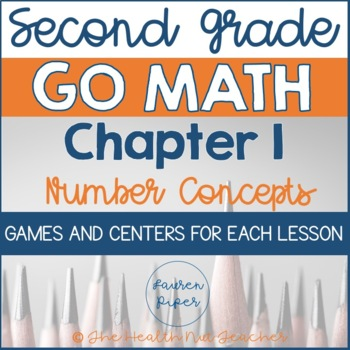 Second Grade Go Math Centers and Games: Chapter 1