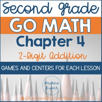 Second Grade Go Math Centers and Games: Chapter 4