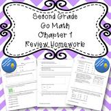 Second Grade Go Math Chapter 1 Review Homework