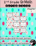 Second Grade Go Math Chapter 1 Vocabulary Cards