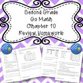 Second Grade Go Math Chapter 10 Review Homework