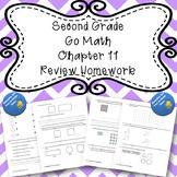 Second Grade Go Math Chapter 11 Review Homework