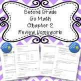 Second Grade Go Math Chapter 2 Review Homework