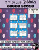 Second Grade Go Math Chapter 2 Vocabulary Cards