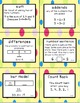 Second Grade Go Math Chapter 3 Vocabulary Cards