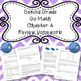 Second Grade Go Math Chapter 4 Review Homework