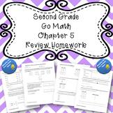 Second Grade Go Math Chapter 5 Review Homework