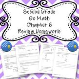 Second Grade Go Math Chapter 6 Review Homework