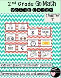 Second Grade Go Math Chapter 7 Vocabulary Cards
