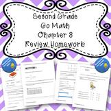Second Grade Go Math Chapter 8 Review Homework