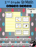 Second Grade Go Math Chapter 8 Vocabulary Cards