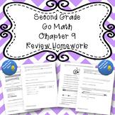 Second Grade Go Math Chapter 9 Review Homework