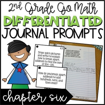 Chapter 6 2nd grade go math teaching resources teachers pay teachers second grade go math differentiated math journal prompts ch 6 fandeluxe Image collections
