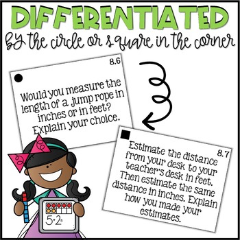 Second Grade Go Math Differentiated Math Journal Prompts - Ch. 8