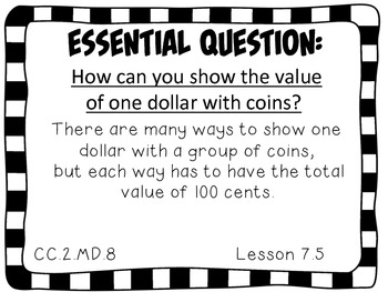 Second Grade Go Math Essential Questions Chapter 7