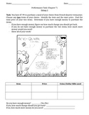Second Grade Chapter 7 Performance Task Tiered