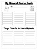 Second Grade Goal Sheet