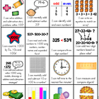 Second Grade Skill Sheet (2nd Grade Common Core Standards Overview)