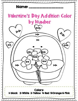 Second Grade Grade Valentine's Day Math & ELA Common Core Activity Set