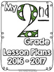 (Second Grade) Grade and Subject Lesson Plan Dividers