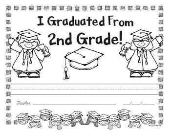 Second Grade Graduation Award - Free