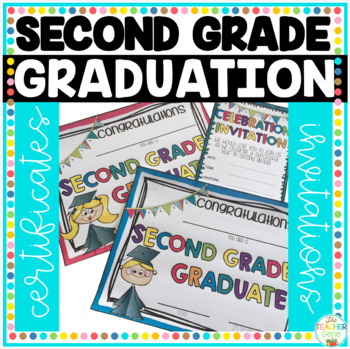 Graduation Certificates & Graduation Invitations - Second Grade