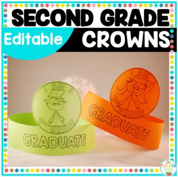 Second Grade Graduation Crowns