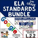 Second Grade Grammar Skills ELA Practice Bundle for CCSS L.2.2 for Google Drive