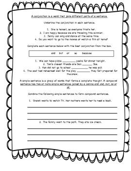 Second Grade Grammar Study Guide Bundle
