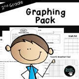 Second Grade Graphing Resource Pack (EDITABLE!, Standards Aligned)