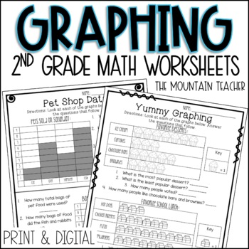 Second Grade Graphing and Data Unit