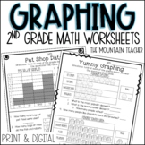 Data and Graphing Worksheets and Assessments   Printable a