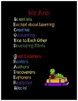 Second Grade Growth Mindset Poster