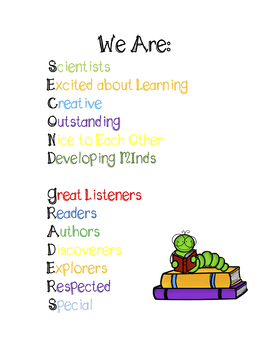 Second Grade Growth Mindset Poster
