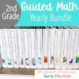 Second Grade Guided Math Bundle