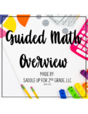 Second Grade Guided Math Overview