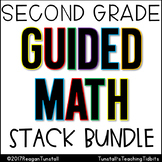 Second Grade Guided Math Stack Bundle