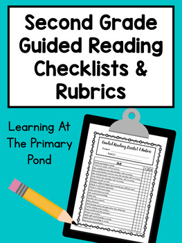 Second Grade Guided Reading Checklists and Rubrics