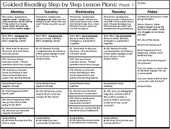 Second Grade Guided Reading Curriculum by Tara West | TpT
