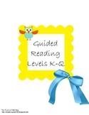 Second Grade Guided Reading Pack