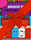 Second Grade Guided Reading Word Work Strategies/ Lesson Plan Book Bundle