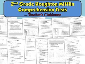 Second Grade HM Comprehension Tests