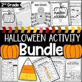 Second Grade Halloween Activity Bundle