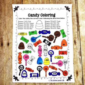 2nd Grade Halloween Math by The Lifetime Learner | TpT