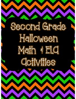 Second Grade Halloween Packet *Common Core Aligned*