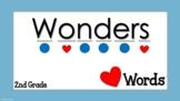 Heart Words for Second Grade Wonders Editable