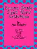 Second Grade High Frequency Words Activities