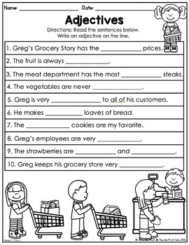Second Grade Home Learning Packet NO PREP Distance Learning