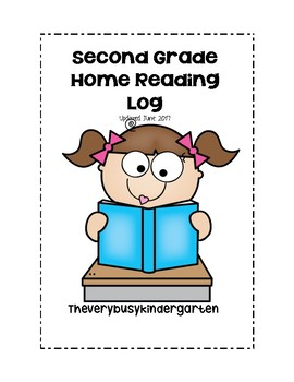 Second Grade Home Reading Log